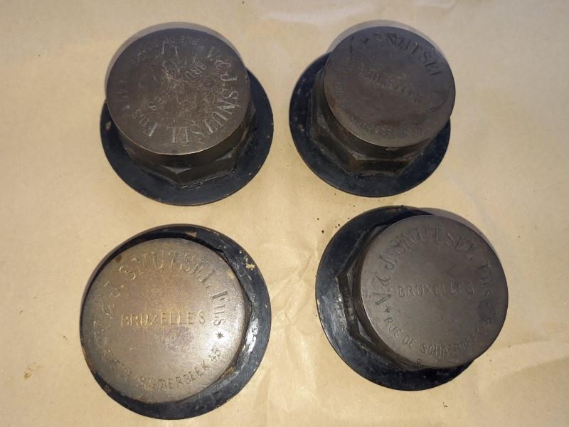 klotten of wieldoppen voor restauratie
